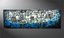Obraz 'Abstract Ice' 240x80cm