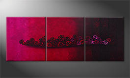 Obraz 'Bed Of Roses' 210x80cm