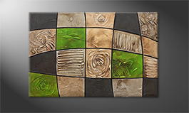 Obraz 'Earth Pieces' 120x80cm