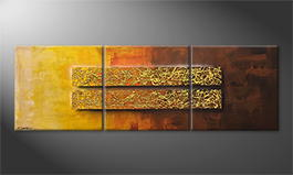 Obraz 'Golden Afterglow' 210x70cm