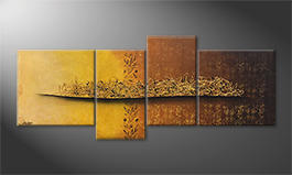 Obraz 'Golden Nights' 200x80cm