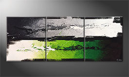 Obraz 'Green Dimension' 180x70cm