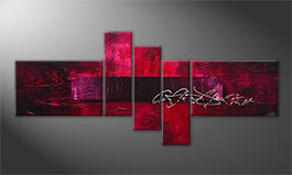 Obraz 'Purple Night' 180x80cm