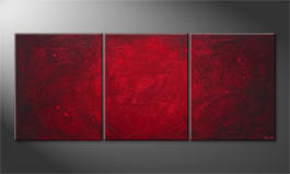 Obraz 'Simply Red' 210x90cm