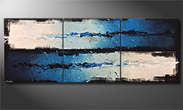 Obraz do salonu 'Against The Drift' 270x100x4cm