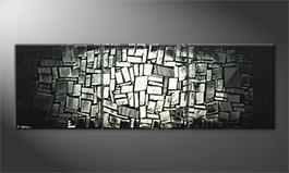 Obraz do salonu 'Cubic Night' 210x70cm