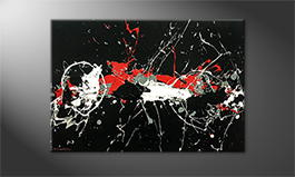 Obraz do salonu 'Deep Eruption' 120x80cm