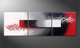 Obraz do salonu 'Disengaged Mood' 180x60cm