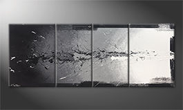 Obraz do salonu 'Light Splasher' 180x70cm
