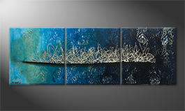 Obraz do salonu 'Pacific Secret' 180x60cm