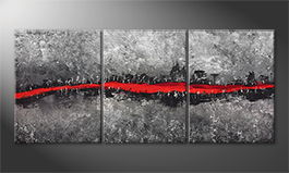 Obraz do salonu 'Red River' 180x80cm