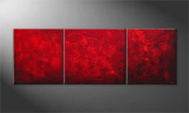 Obraz do salonu 'Red Sky' 230x80cm
