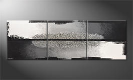 Obraz do salonu 'Silver Break' 240x80cm