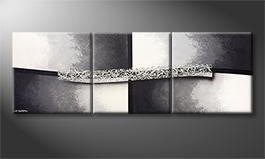Obraz do salonu 'Silver Way' 210x70cm