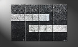 Obraz do salonu 'White vs. Black' 120x80cm