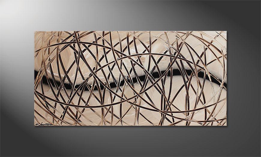 Desert Traces 120x60x2cm Obraz
