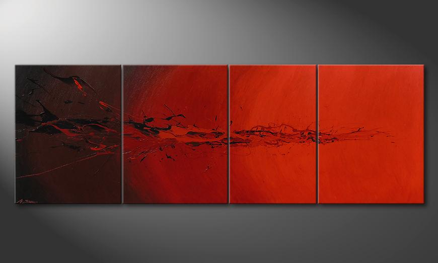 Devil Splash 230x80x2cm Obraz