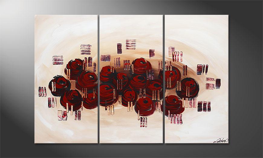 Dream of Roses 120x80x2cm Obraz