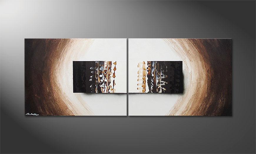 Enlightened Earth 160x60x2cm Obraz