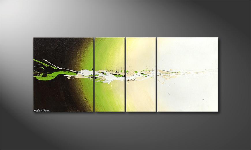Fruity Splash 120x50x2cm nowoczesne obraz