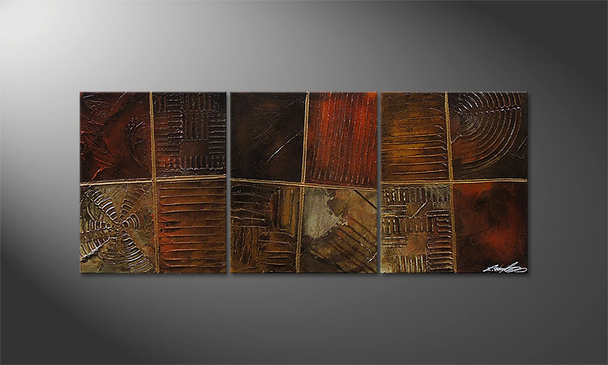 Potpouri of Memories 120x50x2cm Obraz