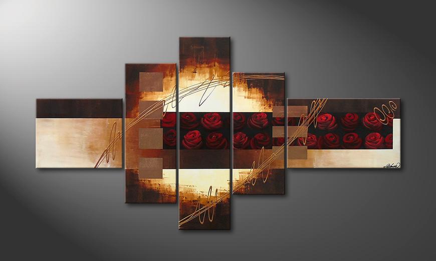 Rose Garden II 205x110x2cm Obraz