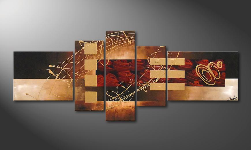 Rosy Phantasies 220x90x2cm Obraz