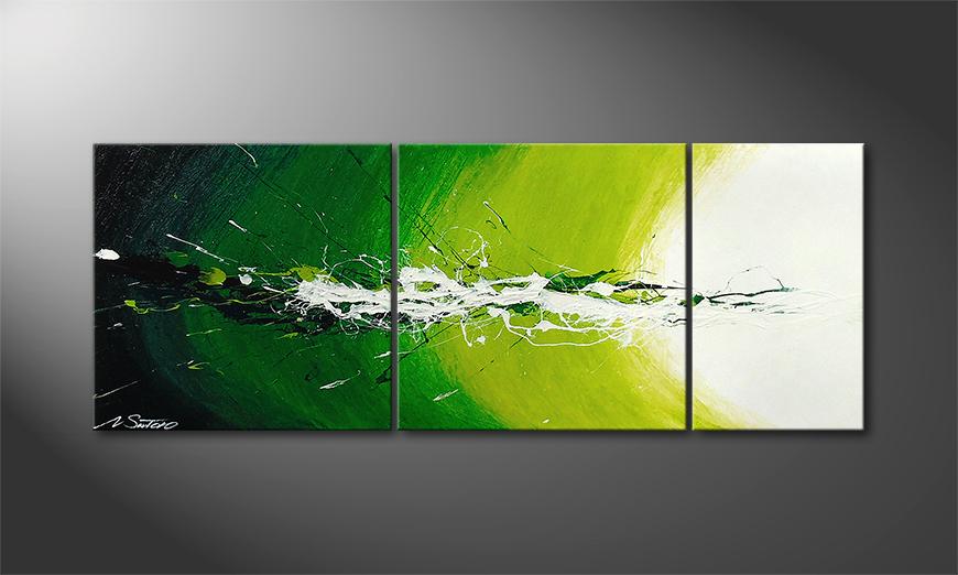 Spring Splash 130x50x2cm Obraz
