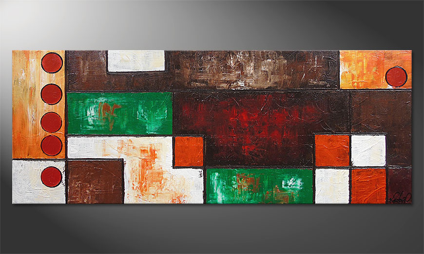 Stand Out 150x60x2cm Obraz