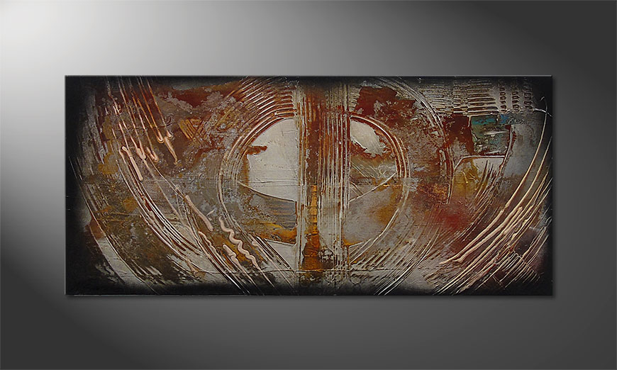 Traces of Past 110x50x2cm Obraz