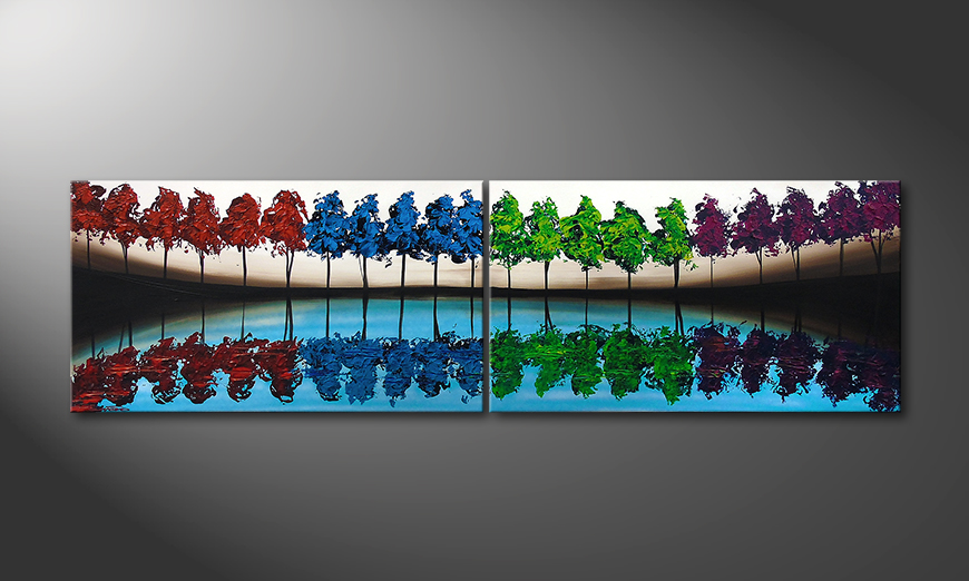 Miracle Forest 200x60cm Obraz