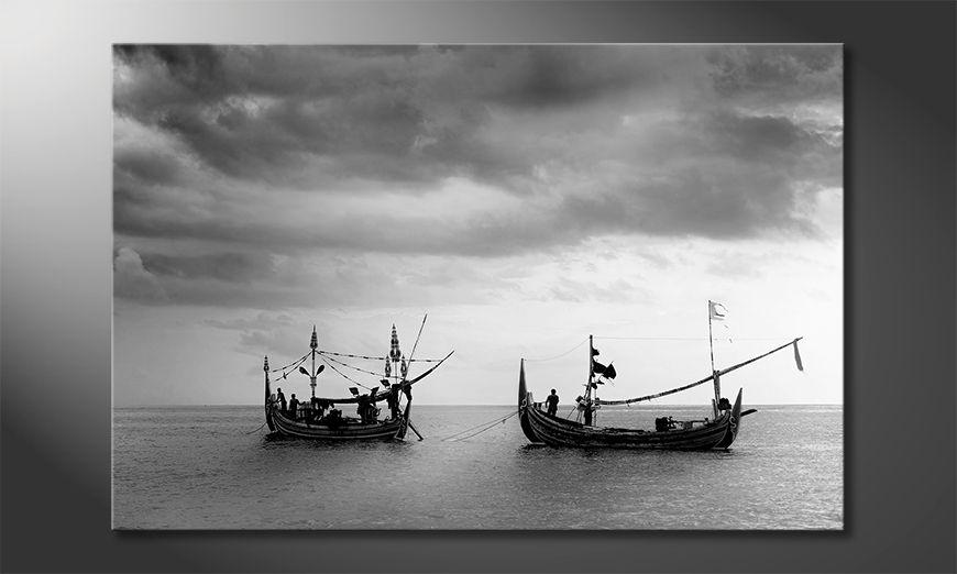 ?adne malowanie Fishing Boats