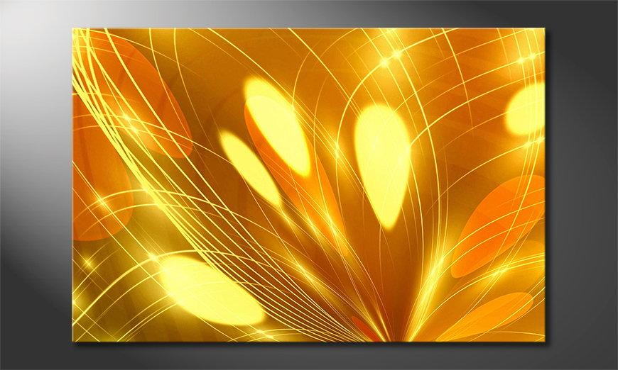 Abstract Lights Obraz