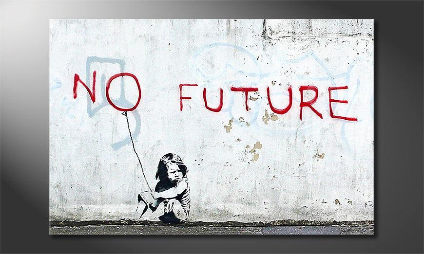 Banksy No10 Obraz