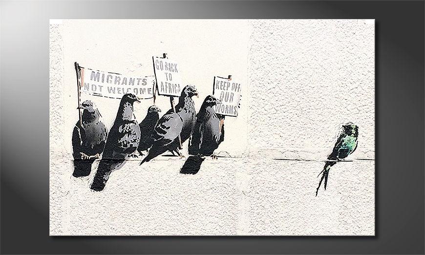 Banksy No11 Obraz