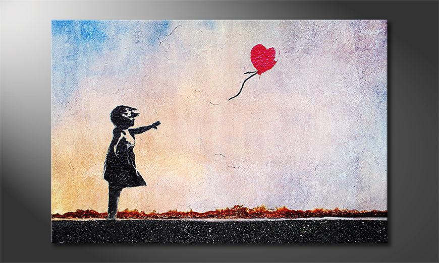 Banksy No14 Obraz