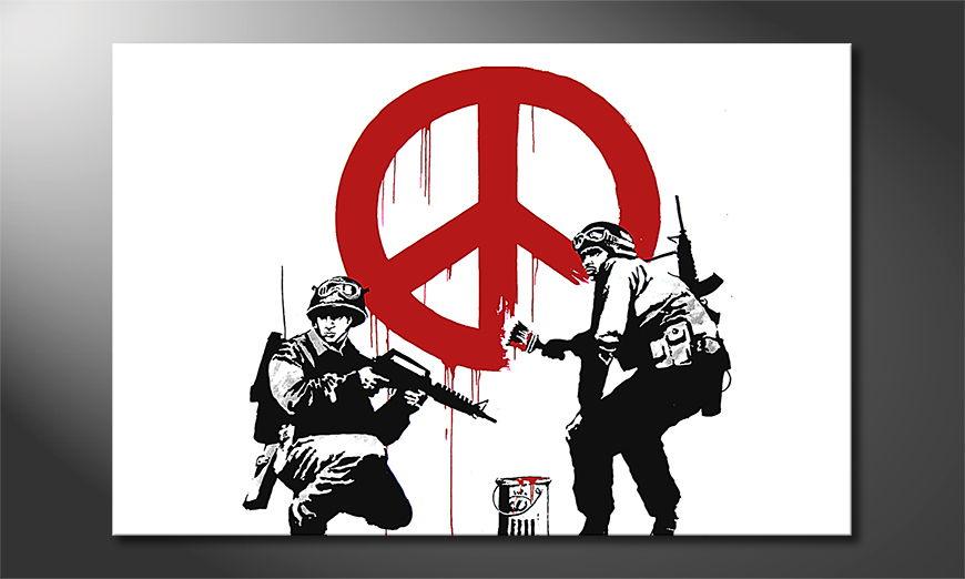Banksy No15 Obraz