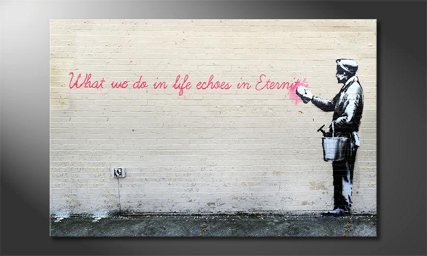 Banksy No17 Obraz