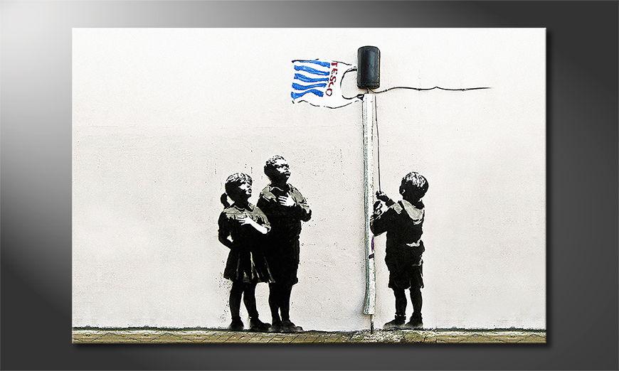 Banksy No18 Obraz