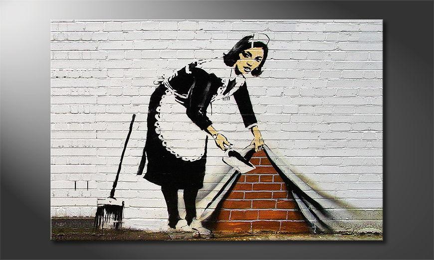 Banksy No19 Obraz