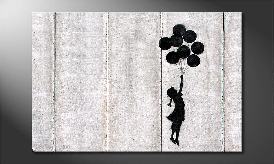 Banksy No3 Obraz