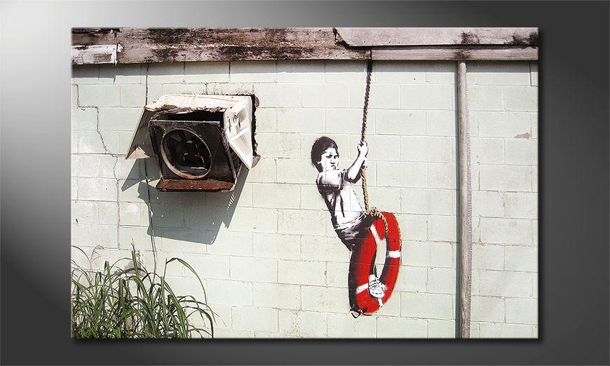 Banksy No4 Obraz