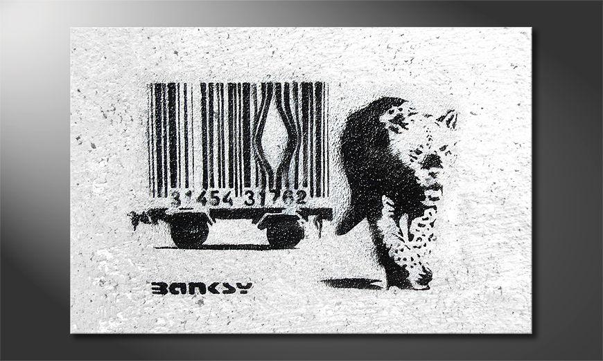 Banksy No5 Obraz