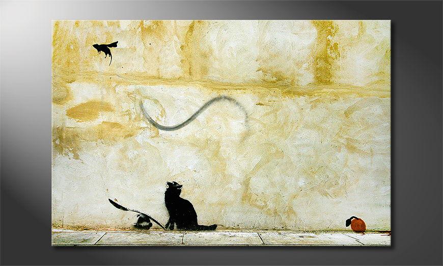 Banksy No8 Obraz