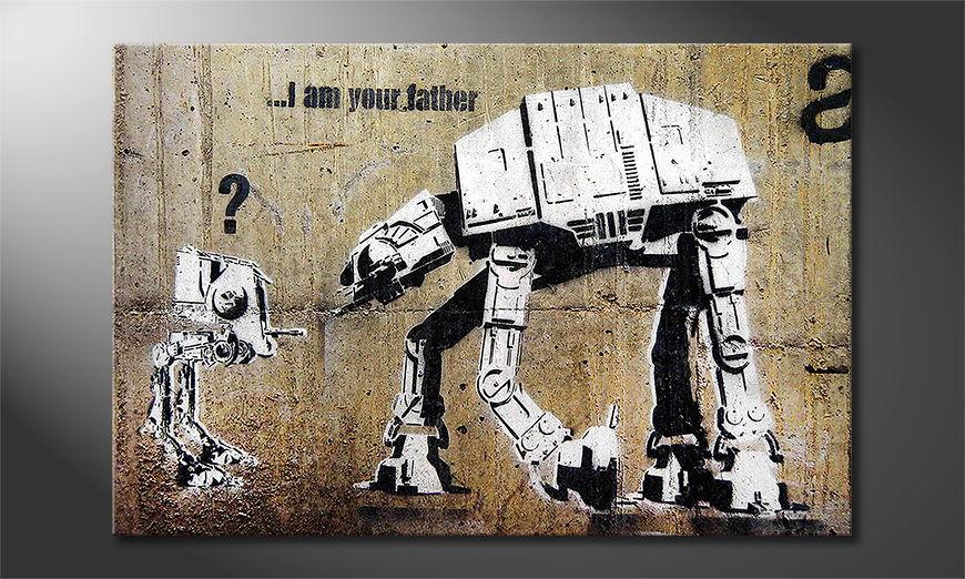 Banksy No9 Obraz