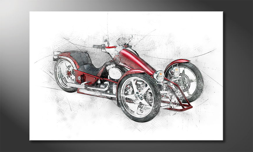 Bike 8 Obraz