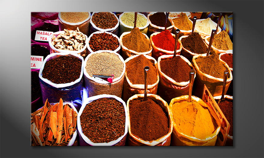 Colorful Spices Obraz