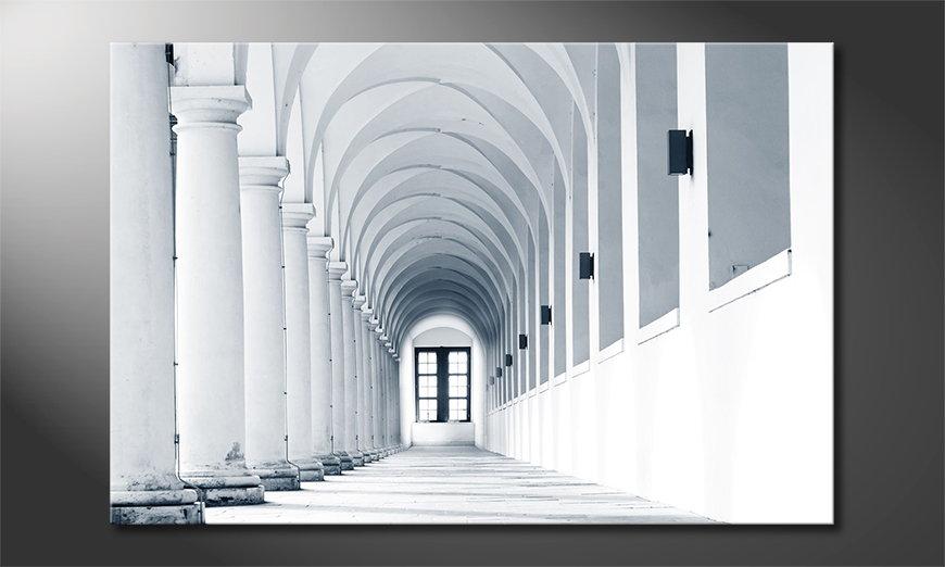 Columns Gallery Obraz