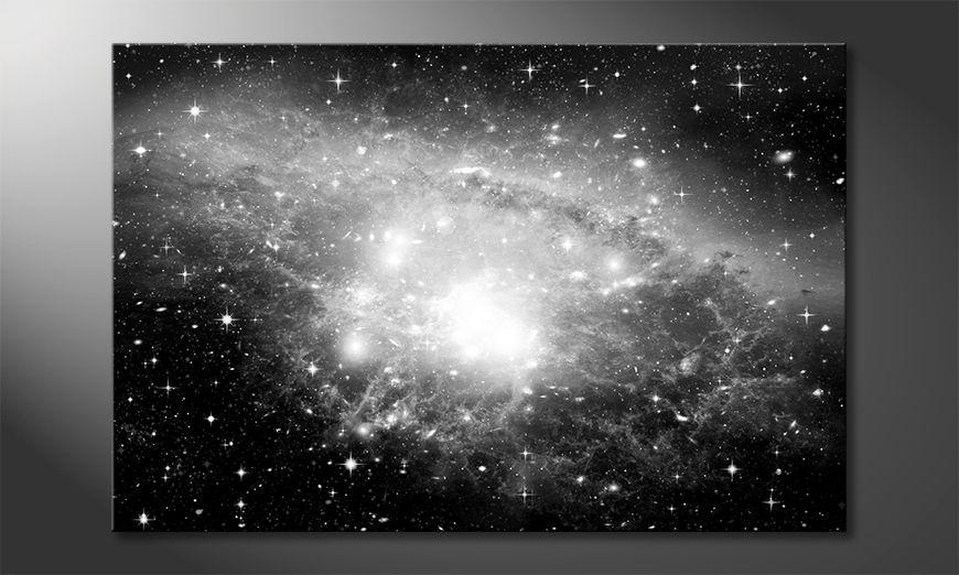 Druk na p?ótnie Galaxy