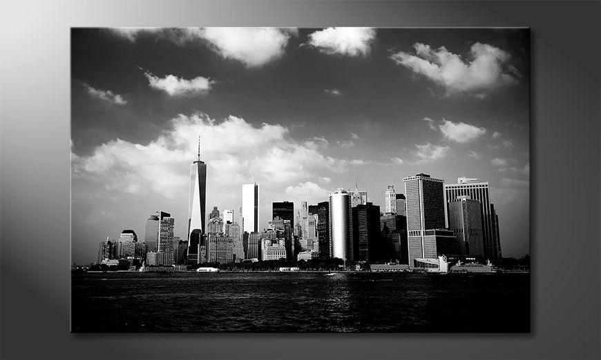 Druk na p?ótnie Manhattan Skyscrapers